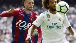 Real Madrid'e Levante darbesi