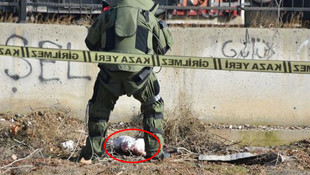 Bomba sanılan bezin içinden bakın ne çıktı