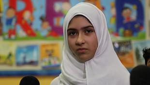 11 yaşındaki başörtülü kıza makaslı saldırı !