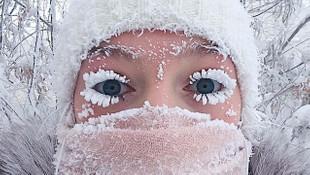 Dünyanın en soğuk yeri ! Her şey dondu