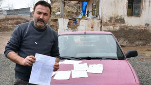 Hiç gitmediği İstanbul'da 48 ceza yedi !