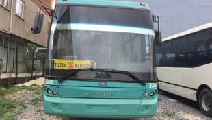 12 bin liraya aldığı belediye otobüsünü bakın ne yaptı