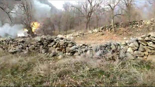 PKK'nın bombalı aracı böyle imha edildi