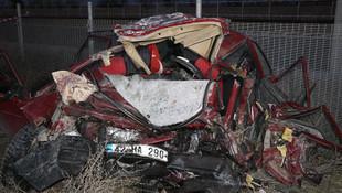 Konya'da korkunç kaza: Bir aile yok oldu !