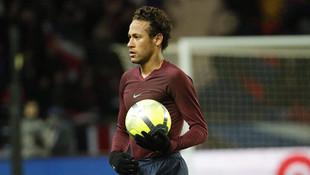 Neymar'dan tepki çeken hareket