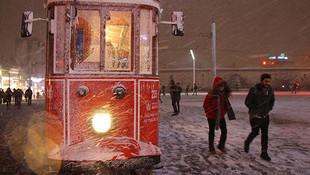 İstanbul'da kar yağışı için yeni tarih verildi