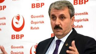 BBP liderinden AK Parti itirafı