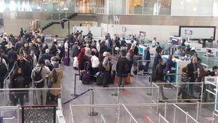Havalimanlarında sömestr tatili yoğunluğu