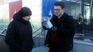Karne fırsatçısı öğrenci vatandaşlardan harçlık istedi