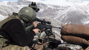 PKK'ya ağır darbe; 20 hain öldürüldü !