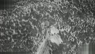 Türk savaş uçakları PYD hedeflerini böyle vurdu
