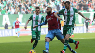 Konyaspor - Trabzonspor: 2-2