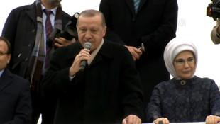 Erdoğan'dan sokak çağrısı yapan HDP'ye cevap
