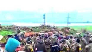 YPG paçavraları ateşe verildi