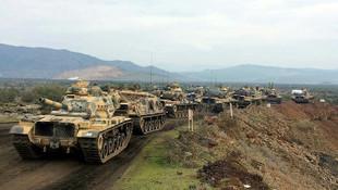 Zeytin Dalı Harekatı'nda 3. gün: Teröristler 11 noktada bozguna uğradı