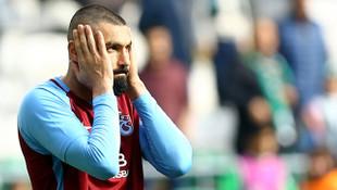 Trabzonspor'da Burak Yılmaz krizi