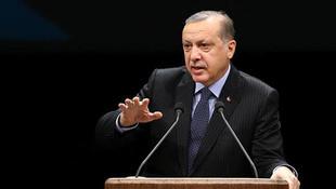 Cumhurbaşkanı Erdoğan: ''Geri adım atmak yok''