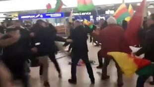 Almanya'da PKK yandaşları Türklere saldırdı