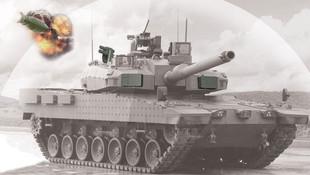 Afrin'de tankları ''Akkor'' koruyor