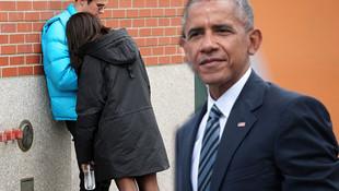 Obama'nın kızı böyle yakalandı !