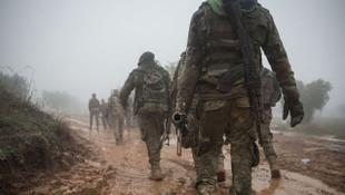 Afrin'de sızma girişimi ! Teröristler bozguna uğratıldı