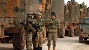Afrin'deki zırhlı araçlarda dikkat çeken detay !