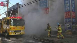Hastanede yangın dehşeti: 41 ölü, 70 yaralı