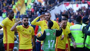 Malatyaspor'dan altın gol !