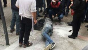 Balıkesir'de işsiz yurttaş belediye önünde kendisini yaktı