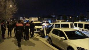 Asker konvoyu karıştı; polis müdahale etti