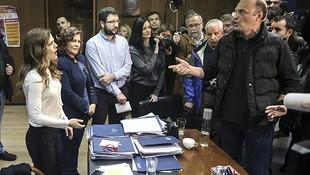 Yunanistan'da göstericiler bakanlığı bastı !