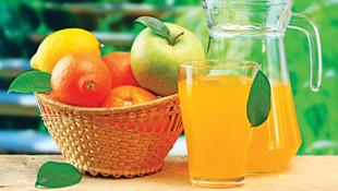 Meyve suyundaki meyve oranı düşürüldü