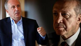Muharrem İnce'den Erdoğan'ı kızdıracak sözler