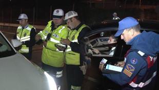 Bir gecede 5 milyon liralık trafik cezası kesildi