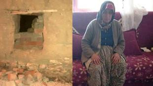 Yaşlı kadını bıçakla kovalayan saldırgan serbest