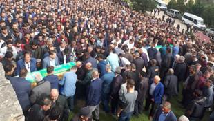Kazada ölen 4 kişinin cenazesine binlerce kişi katıldı