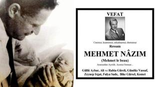 Nazım Hikmet'in oğlunun ölüm ilanında şaşırtan fotoğraf