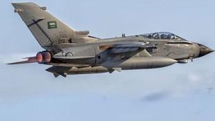 Suudi Arabistan Kraliyeti uçağı düştü