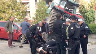 Ankara'da terör alarmı ! Polis vurarak durdurdu