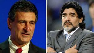 Maradona'ya şok tepki: Artık biraz sus !