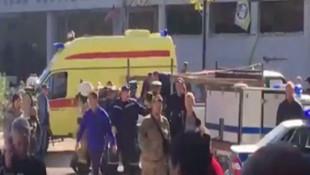 Kırım'da bir okulda patlama: Çok sayıda ölü var