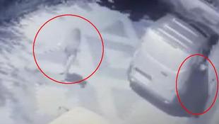 İstanbul'da genç kıza taciz kamerada