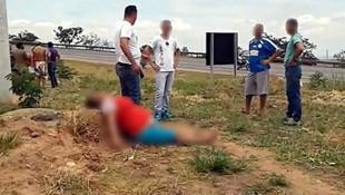 Vahşet ! Genç kadının karnını kesip bebeğini çaldılar