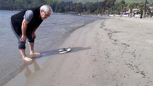 Muğla'da sahilde korkutan görüntü