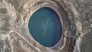 Turistlerin yeni gözdesi: Obruk Gölü