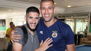 Fenerbahçe'de Slimani ve Benzia gelişmesi