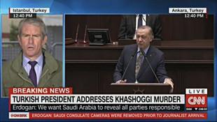 Dünya televizyonları Erdoğan'ı canlı yayınladı