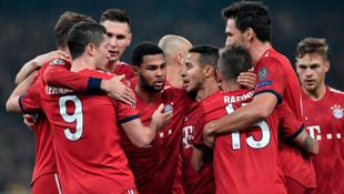 Bayern Münih fişi 2 dakikada çekti