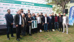 Aroma 50. yılında, Bursaspor oyuncuları ile bir araya geldi