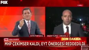 Fatih Portakal'dan haber müdürüne ilginç tepki